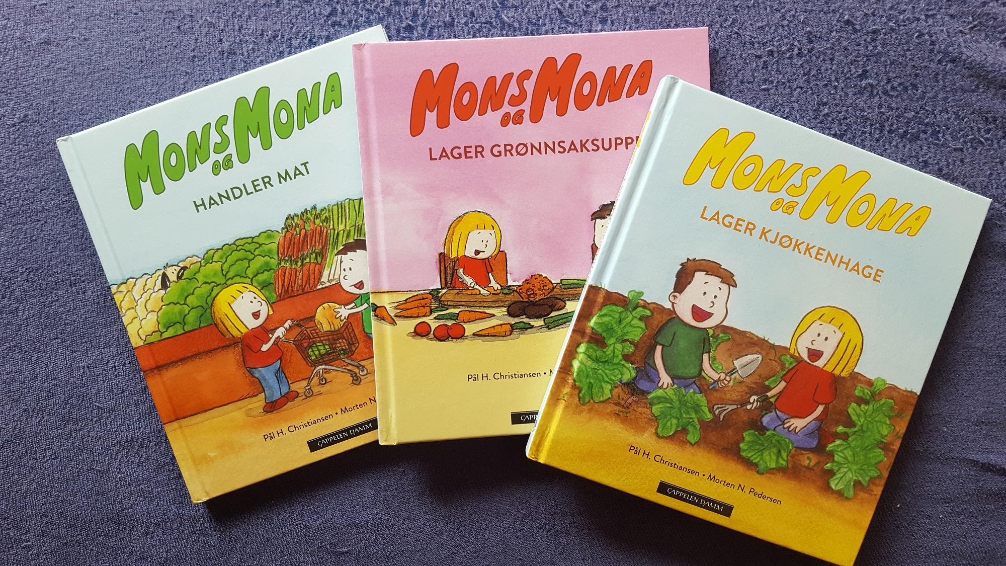 Barnehagebarna elsker Mons og Mona