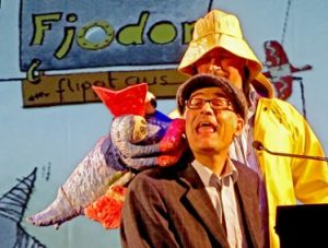 Felix Janosa and Till Demtröder with Fjodor