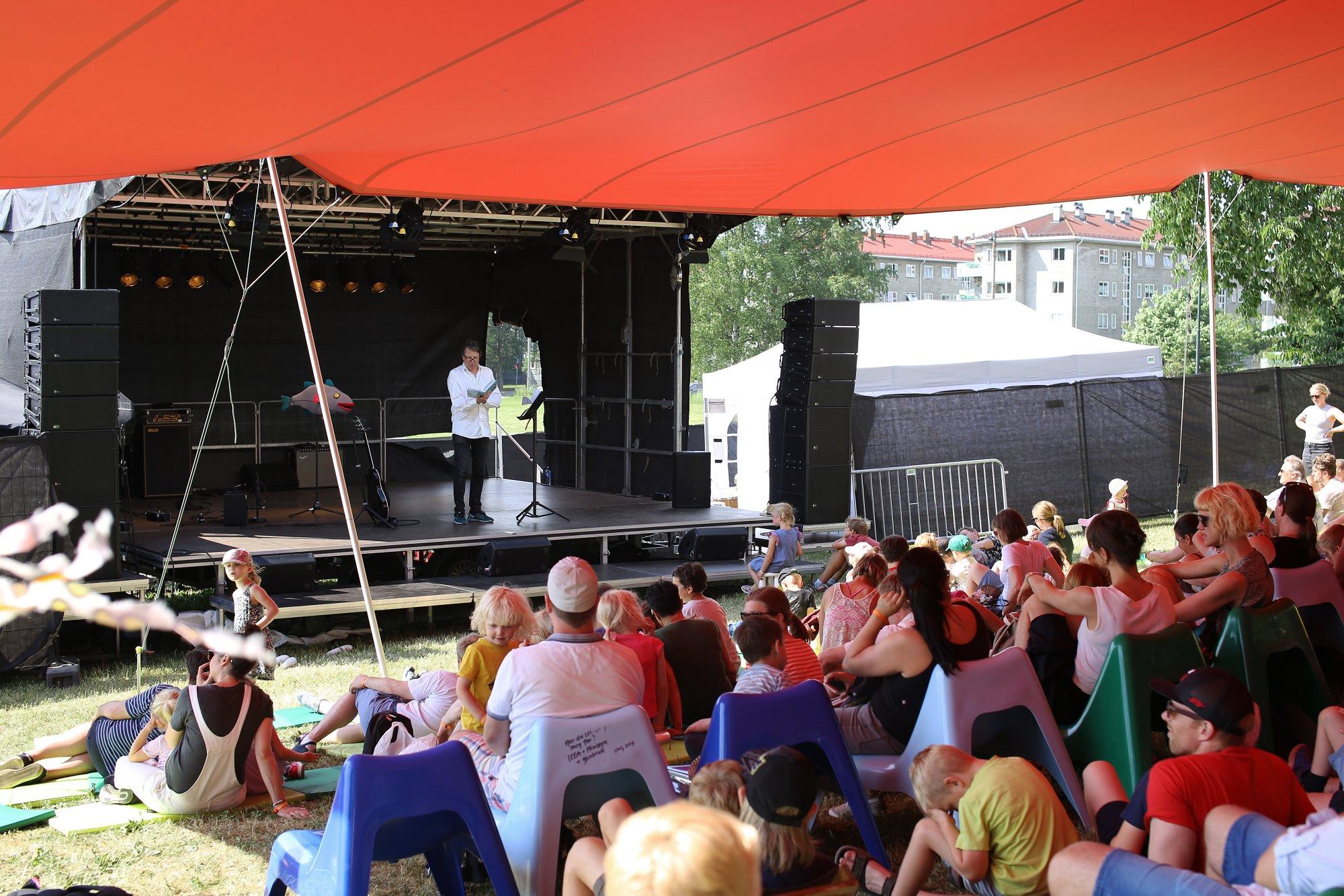 Fjodor-show på Miniøya