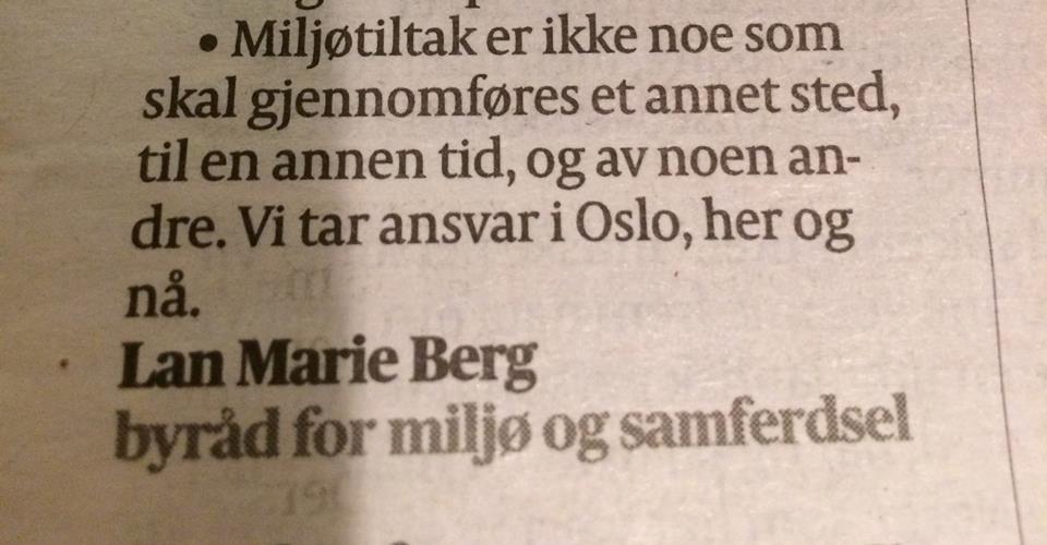 Oslo trenger gruppeterapi straks