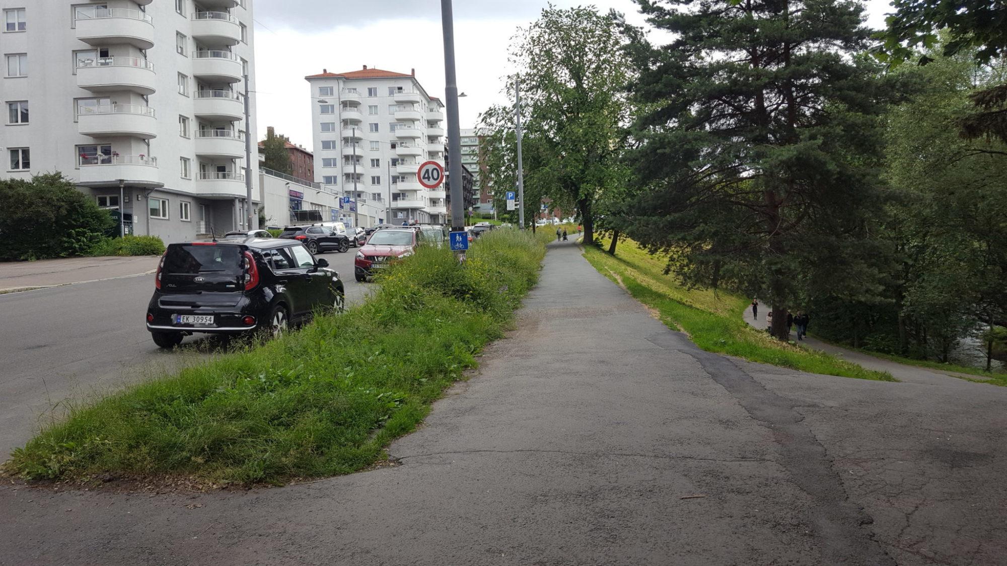 Treschowsgate: Parkeringstrøbbel for barnevakten