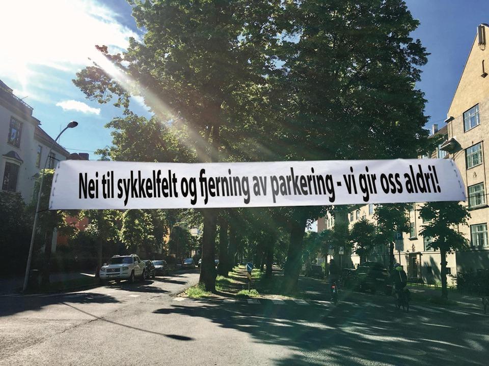 Sykkelfeltoppstart i Gyldenløvesgate i juni?