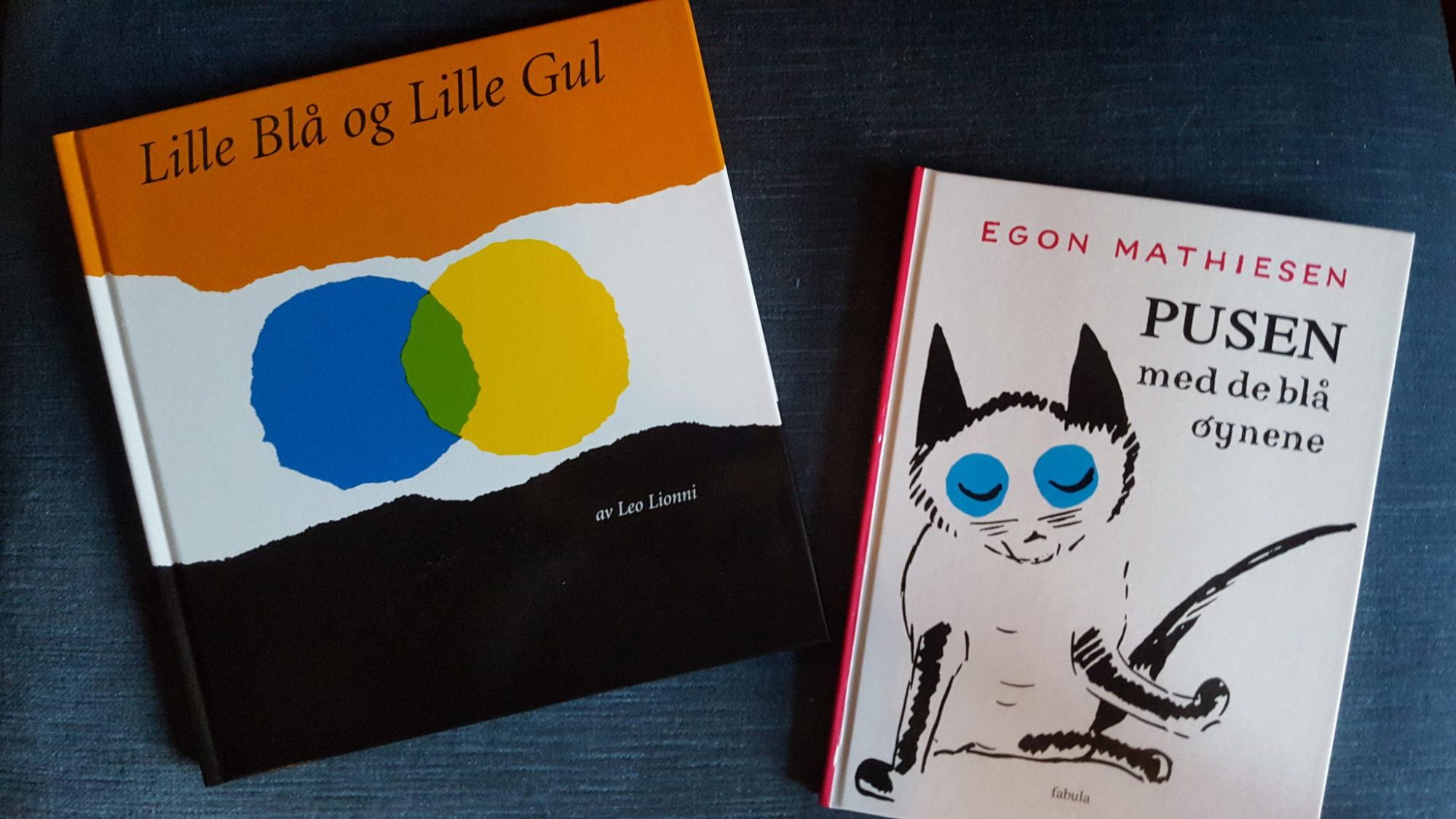 To barnebokklassikere fra Forlaget Fabula