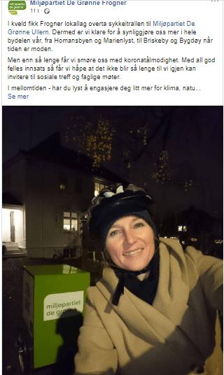 Har egen hage på Ullern: Vil fjerne parkering på Frogner